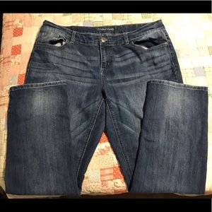 Maurice's Straight Leg Jeans 18 reg